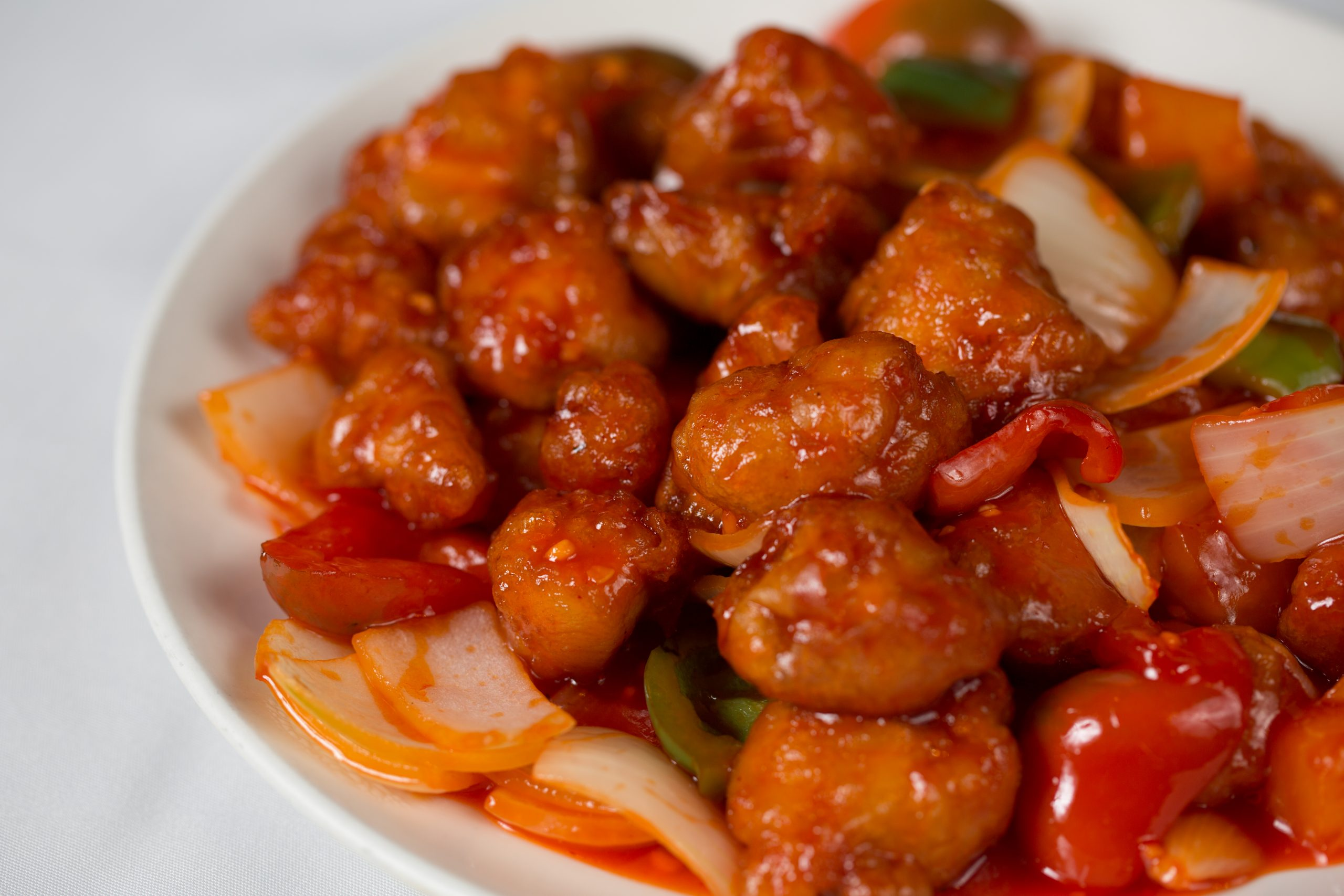 Sweet and Sour Chicken 4